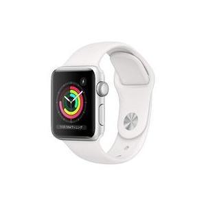 中古スマートウォッチ Apple Watch Series 3 GPSモデル 38mm (シルバーアルミニウム/ホワイトスポ|suruga-ya