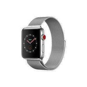 中古スマートウォッチ Apple Watch Series3 GPS+Cellularモデル 42mm ステンレススチールケースと suruga-ya