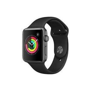 中古スマートウォッチ Apple Watch Series3 GPSモデル 42mm スペースグレイアルミニウムケースとブ suruga-ya