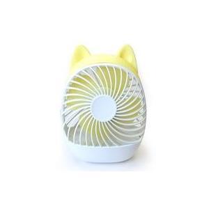 中古空調家電 FUNLAB MINI DESKTOP FAN (YELLOW/DOG) [FUNLAB 02]|suruga-ya