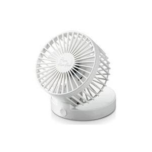新品空調家電 エレコム flowflowflow卓上ファン (ホワイト) [FAN-U203WH]|suruga-ya