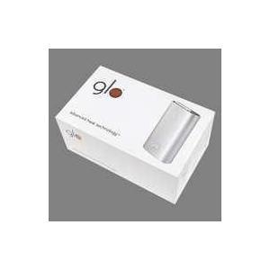 中古電子タバコ 加熱型たばこ glo(グロー) スターターキット (プレミアム・シルバー) [G003] (状態:内箱欠品/ suruga-ya