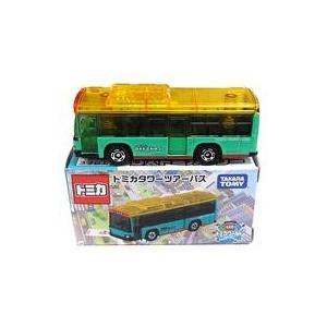 中古ミニカー トミカタワーツアーバス(グリーン×スケルトンイエロー) 「トミカ」 DXトミカタワー購...