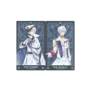 中古キャラカード(キャラクター) 霜月隼 帝国特製メタルタロットカード2枚セット 「ツキウタ。」 ア...