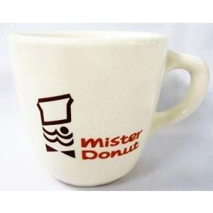 中古マグカップ・湯のみ(キャラクター) ミスタードーナツ35周年記念オリジナルコーヒーカップ(創業当時の復刻版デザイン) suruga-ya