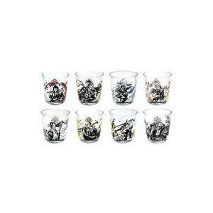 中古グラス(キャラクター) 全8種セット 墨式グラス 「一番くじ ワンピース ワノ国編〜第一幕〜」 G賞|suruga-ya