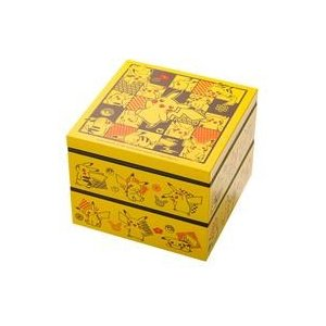 中古マグカップ・湯のみ ピカチュウの黄色い重箱二段 「ポケットモンスター」 ポケモンセンター限定