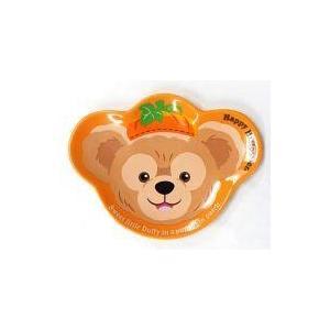 中古皿・茶碗(キャラクター) ダッフィー スーベニアプレート(オレンジ) 「ディズニーハロウィーン2...