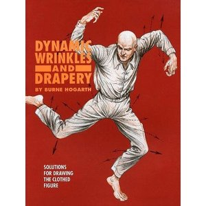 中古単行本(実用) ≪洋書≫ DYNAMIC WRINKLES AND DRAPERY / Burne Hogarth|suruga-ya