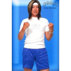 中古コレクションカード(男性) SEX MACHINEGUNS/ANCHANG/膝上・衣装白.青・体...