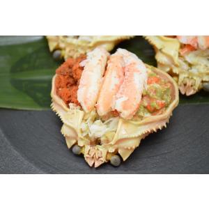【限定50食】せいこがに甲羅詰め2個入り 冷凍|sushinosui