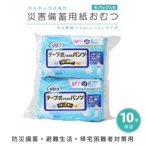 災害備蓄用紙おむつ(大人用) ベルテックス丸竹|suteki-catalog
