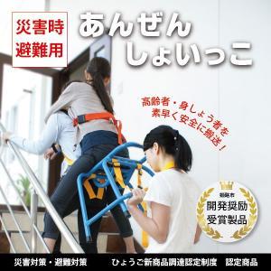 防災用品 災害避難用品 背負子あんぜんしょいっこ|suteki-catalog