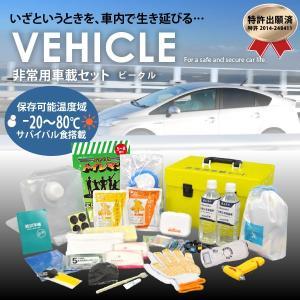 防災グッズ 非常用車載セット(ビークル) 携帯の充電も可能|suteki-catalog