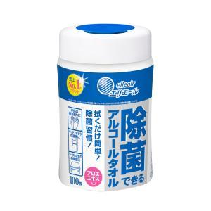 エリエール 除菌できるアルコールタオル 100枚入|suteki-catalog
