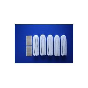 A-39-B レンジフードの溝用 吸油テープ(1m・5本入)×5セット(台所用品)|suteki-roseyrose