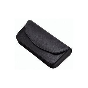 FG-6 メガネケース マジックテープ式 鼻あて付 FG-6 クロ(収納用品)|suteki-roseyrose
