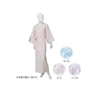 コベス 婦人カラーガーゼねまき  ピンク NE69 M(ナイトウェア) suteki-roseyrose