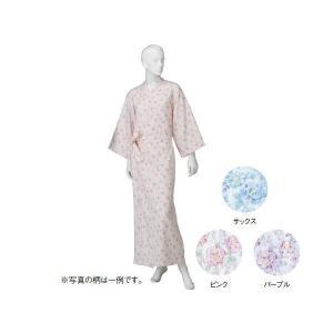 コベス 婦人カラーガーゼねまき パープル NE69 M(ナイトウェア) suteki-roseyrose