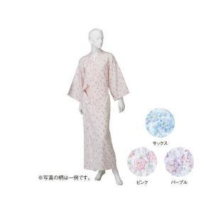 コベス 婦人カラーガーゼねまき サックス NE69 M(ナイトウェア) suteki-roseyrose