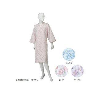 コベス 婦人カラーガーゼ合わせ(湯上がり)  ピンク NE72 M(ナイトウェア) suteki-roseyrose