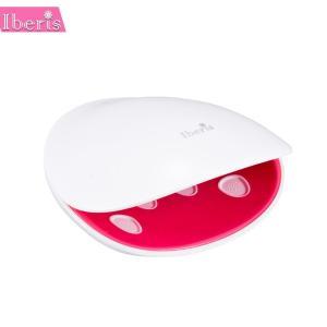 ビューティーケアシリーズ Iberis ジェルネイル用LED UVライト HBN-UVK1(美容・健康家電)|suteki-roseyrose
