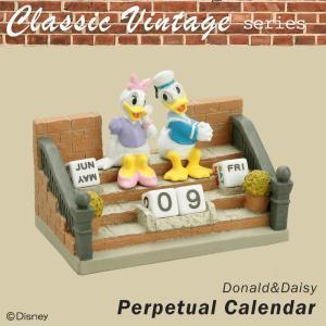 セトクラフト Classic Vintage series 万年カレンダー(ドナルド&デイジー) SD-5576-350(カレンダー)|suteki-roseyrose