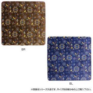 ホットカーペットカバー クロッシェ 約200×250cm BR・240609014(秋冬家電)|suteki-roseyrose