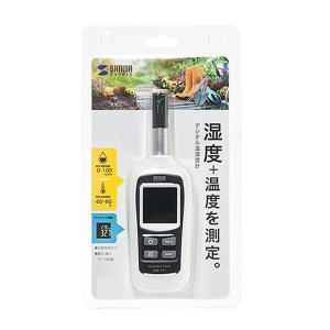 サンワサプライ デジタル温湿度計 CHE-TP1(ガーデニング・花・植物・DIY)|suteki-roseyrose