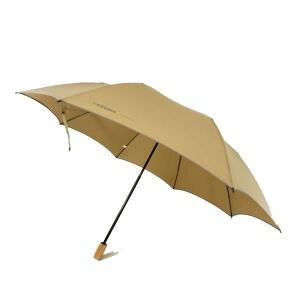 代引き不可 renoma レノマ 二段式 超軽量 折りたたみ傘 ベージュ CMR802H