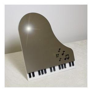 ステンレスミラー ピアノ鍵盤 音符|sutekihiroba