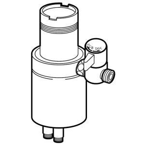 【在庫限り!!】 NSJ-STKB7 ナニワ製作所 分岐水栓 (タカギ対応)|sutekihiroba