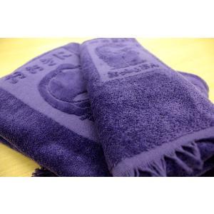 おっしょはんタオル 「紫タオルセット」 (2枚組)|sutekihiroba