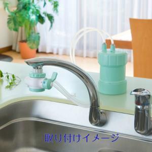 PF-G4 キッツマイクロフィルター ピュリフリー 家庭用浄水器 グリーン|sutekihiroba|02