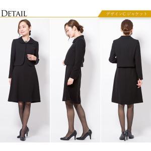 喪服 レディース 洗える ロング ブラックフォーマル スーツ 礼服 ワンピース  女性 20代 30代 40代 50代 大きいサイズ 小さいサイズ 送料無料 あすつく|sutekitaiken|19