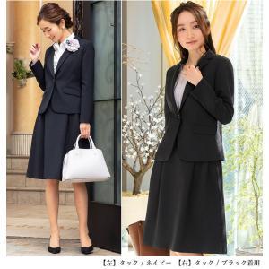 スーツ レディース スカートスーツ ビジネス テーラード タイト フレア ロング タック ストレッチ 女性 面接 就活 30代 40代 大きいサイズ 小さいサイズ 洗える|sutekitaiken|17