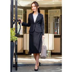 スーツ レディース スカートスーツ ビジネス テーラード タイト フレア ロング タック ストレッチ 女性 面接 就活 30代 40代 大きいサイズ 小さいサイズ 洗える|sutekitaiken|19