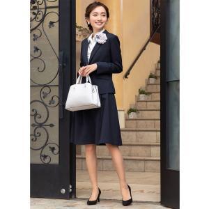 スーツ レディース スカートスーツ ビジネス テーラード タイト フレア ロング タック ストレッチ 女性 面接 就活 30代 40代 大きいサイズ 小さいサイズ 洗える|sutekitaiken|20