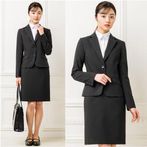 スーツ レディース スカートスーツ 就活スーツ リクルートスーツ 就活 テーラード 女性 ジャケット 1ボタン 2ボタン 膝上 膝下 洗える 半裏地|sutekitaiken|12