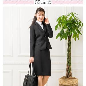 スーツ レディース スカートスーツ 就活スーツ リクルートスーツ 就活 テーラード 女性 ジャケット 1ボタン 2ボタン 膝上 膝下 洗える 半裏地|sutekitaiken|13