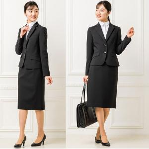 スーツ レディース スカートスーツ 就活スーツ リクルートスーツ 就活 テーラード 女性 ジャケット 1ボタン 2ボタン 膝上 膝下 洗える 半裏地|sutekitaiken|16
