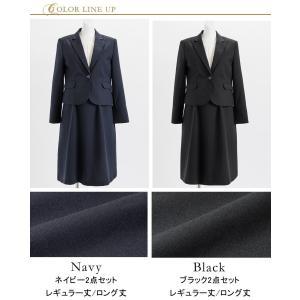 ワンピースの長さが選べる テーラードカラーマタニティスーツ2点セット(ジャケット+ワンピース)|sutekitaiken|19