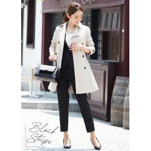 スーツ レディース パンツスーツ ビジネス リクルートスーツ OL テーラード フルレングス丈 ストレッチ 女性 面接 大きいサイズ 小さいサイズ|sutekitaiken|17