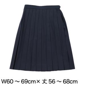 ティアラ 女子 トロピカル織り 24本車ヒダ 夏用セーラー服用スカート (W60〜69cm×丈56〜60cm) (送料無料) (取寄せ)|suteteko