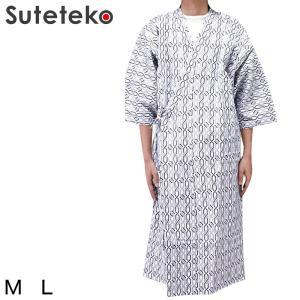 紳士ガーゼねまき M・L (健康ねまき) (介護肌着) (取寄せ)|suteteko