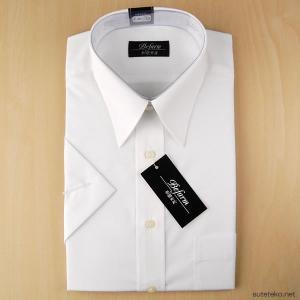 Befarm 形態安定 消臭加工 半袖カッターシャツ (8サイズ展開)  (ON/ビジネスウェア) (在庫限り)|suteteko