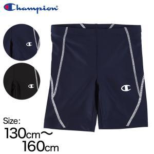 子供チャンピオン スイムパンツ 130cm〜160cm (champion 水着 水泳 ボーイズ 男子 紺 黒)|suteteko