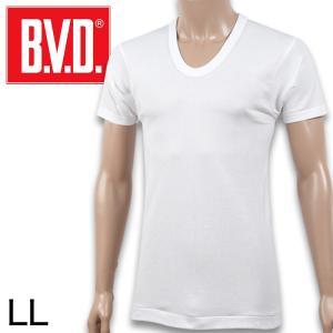 B.V.D. GOLD 半袖U首Tシャツ LL (メンズ 男性 アンダーシャツ tシャツ ティーシャツ 肌着 インナー)|suteteko