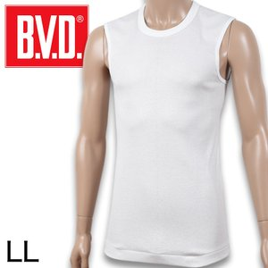 B.V.D. GOLD スリーブレスシャツ LL (メンズ インナー ノースリーブ BVD ゴールド)|suteteko