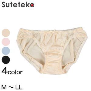 2wayストレッチ&レースショーツ (M〜LL) (レディース 婦人 インナー パンツ)|suteteko